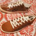 Coach Shoes   Mens Coach Suede Leather Tennis Shoes   Color: Brown/Tan   Size: 12
