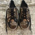 Coach Shoes   Coach Dawnell Patchwork Tennis Shoe   Color: Brown/Gold   Size: 9.5