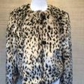 J. Crew Jackets & Coats | J.Crew $278 Cropped Faux Fur Coat In Snow J6148 | Color: Black/White | Size: Various