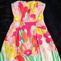 Lilly Pulitzer Dresses   Lilly Pulitzer Lavish Lilly Blossom Dress   Color: Orange/Yellow   Size: 2