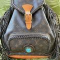 Louis Vuitton Bags | Lv Louis Vuitton Gm Montsauris Backpack | Color: Brown | Size: 15x12.5 X 5 Inches