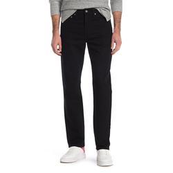 J.Crew Men's Denim Pants and Jeans BLACK - Black Rinse 770 Non-Selvedge Slim Stretch Jeans - Men & Tall