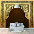3D Removable Mural Muslim gate Large Wallpaper Home Decor Sticker for Bedroom Living Room TV Backdrop Home Decor