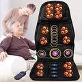 ZZYYZZ Shiatsu Back Massager with Heat, Massage Chair Pad Deep Kneading Full Back Massager Massage Seat Cushion for Home Office Use