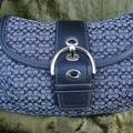 Coach Bags   Coach Soho Mini Signature Small Flap - F12308   Color: Black/Silver   Size: Os