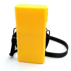 CUESOUL ANTIE Hard Yellow Dart Case,Holds 6 Steel Tip Darts/Soft Tip Darts & Extra Dart Tips,Shafts & Flights,Durable Use