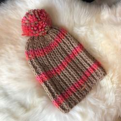 Free People Accessories | Free People Beanie | Color: Orange/Pink | Size: Os