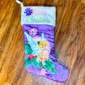 Disney Holiday | Disney Tinker Bell Christmas Holiday Stocking | Color: Purple | Size: Os