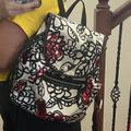 Coach Bags | Coach Mini Backpack - Nylon Fabric | Color: Pink/White | Size: Os