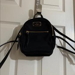 Kate Spade Bags | Mini Backpack | Color: Black | Size: Os