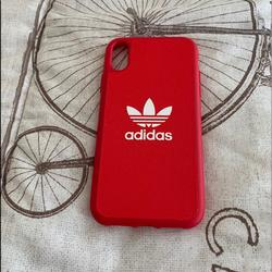 Adidas Accessories   Iphone Xr Adidas Case Nwot   Color: Red   Size: Os