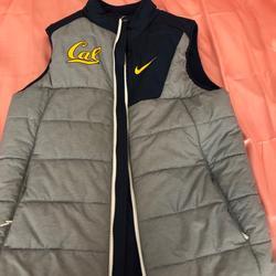 Nike Jackets & Coats   Mens Nike Cal Vest   Color: Blue/Gray   Size: M