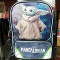 Disney Accessories   Bnwt The Mandalorian Backpack The Child   Color: Blue/Gray   Size: Osbb