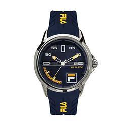FILA Mens Watches - Men Watches - Womens Watches - Wrist Watch - Waterproof Watches for Men - Sport Watches for Men - Fila Watches for Men - Dark Blue Fila Watch