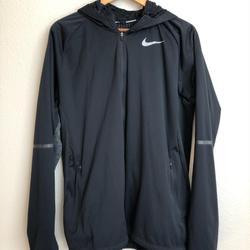Nike Jackets & Coats   Nike Shield Max Running Jacket   Color: Black/Gray   Size: L