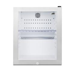 Summit MB13GST 16 Inch Wide 0.9 Cu. Ft. Compact Refrigerators Refrigerator White