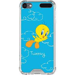 Skinit Clear MP3 Player Case Compatible with iPod Touch 5th-7th Gen - Officially Licensed Warner Bros Tweety Bird Flying Design