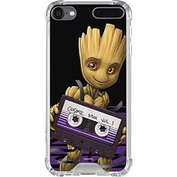 Skinit Clear MP3 Player Case Compatible with iPod Touch 5th-7th Gen - Officially Licensed Marvel Baby Groot Design