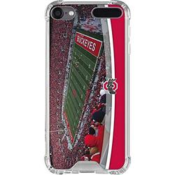 Skinit Clear MP3 Player Case Compatible with iPod Touch 5th-7th Gen - Officially Licensed Ohio State Stadium Design