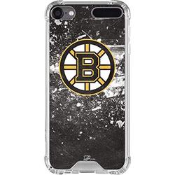 Skinit Clear MP3 Player Case Compatible with iPod Touch 5th-7th Gen - Officially Licensed NHL Boston Bruins Frozen Design