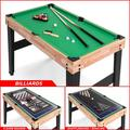 """Best Choice Products 10 Games 48"""" Multi Game Table Wood in Brown, Size 30.5 H x 48.0 W in 