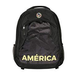 Icon Sports Soccer Backpack Bag – Officially Licensed Premium Club America Federación Mexicana de Fútbol Asociación Team Club Logo Adult Football Fan Shoulder Padding
