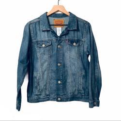 Levi's Jackets & Coats   Levis Denim Trucker Jean Jacket Youth Sz Lg 12   Color: Blue   Size: Lb