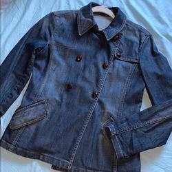 Burberry Jackets & Coats   Burberry Denim Jacket   Color: Blue   Size: M