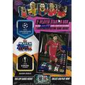 Topps Match Attax 2020 2021 UEFA Champions League Soccer Trading Card Game Sealed Two Player Starter Box with 38 Cards and Game Mat Plus a Bonus Limited Edition Roberto Firmino Gold Card
