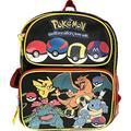 "Go Pikachu Backpack 16"" Full Size School Bag"