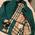 Burberry Jackets & Coats | Burberry Ladies Jacket | Color: Green | Size: Xs