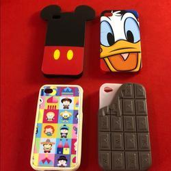 Disney Other   Bundle Disney Iphone 4 Cases   Color: black   Size: Os