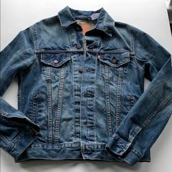 Levi's Jackets & Coats   Levis Vintage Fit Denim Trucker Jean Jacket   Color: Blue   Size: S