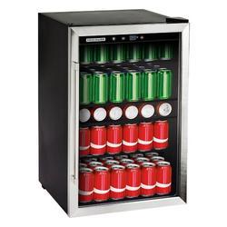 "Frigidaire 126 Cans (12 oz.) Freestanding Beverage Refrigerator, Glass, Size 30""H X 21""W X 20""D   Wayfair EFMIS155"