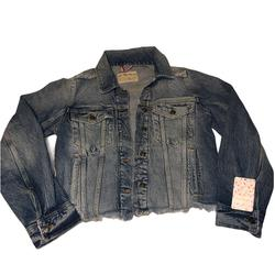 Free People Jackets & Coats   Free People Denim Jean Jacket Xs - New   Color: Blue   Size: Xs