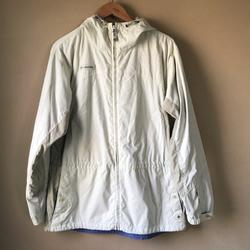 Columbia Jackets & Coats | Columbia Windbreaker Jacket Full Zip Size L Beige | Color: Cream | Size: L