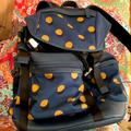 Coach Bags | Coach Backpack | Color: Blue/Yellow | Size: Os