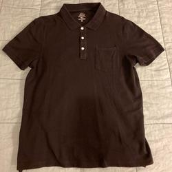 J. Crew Shirts   2 Shirts - J.Crew And Pact Ss Polo Shirts Size L   Color: Black   Size: L