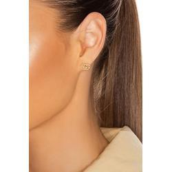 Running G Stud Earrings - Metallic - Gucci Earrings