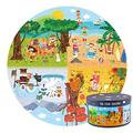 150 pcs Four Seasons Puzzle, Kid Puzzle Educational Toy, Cartoon Pattern Puzzle, Educational Puzzle Toys for Children