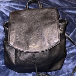 Kate Spade Bags | Kate Spade Small Breezy Mulberry Street Backpack | Color: Black/Gold | Size: Os