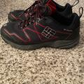 Columbia Shoes | Columbia Mens Omnitech Waterproof Hiking Shoe | Color: Black/Red | Size: 8.5