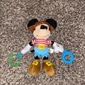 Disney Toys | Disney Mickey Mouse Pirate Baby Rattle | Color: Black/Blue | Size: 11 Inches