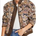 Free People Jackets & Coats | Free People Reversible Quilted Jacket | Color: Red | Size: Xs