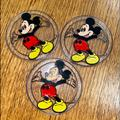 Disney Other   4 Plastic Vtg Hand Decorated Mickey Mouse Coasters   Color: Tan   Size: 3.25