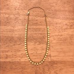 Madewell Jewelry | Madewell Geochain Choker Necklace | Color: Gold | Size: Os