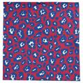 East Urban Home Animal Print Cotton Blend Square Table Cloth in Red/White/Blue, Size 58.0 W x 58.0 D in | Wayfair C607CA632DF641639AB04A6D6749CE69