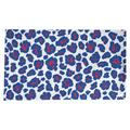 East Urban Home Animal Print Cotton Blend Square Table Cloth in Red/White/Blue, Size 102.0 W x 58.0 D in   Wayfair 7315AD13BEE44651AF17EC4D33F8187B