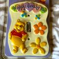 Disney Other   3$12 - Winnie The Pooh Light Switch Cover   Color: White/Yellow   Size: One Size