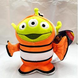 Disney Toys   Disney Pixar Toy Story Alien Nemo Remix Plush   Color: Green/Orange   Size: Osbb